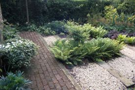 Garden designed by Richard in Chesham