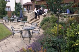 The Courtyard at the Oxford Belfry