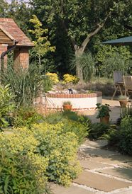 Chiltern Hills paving, pool and terrace